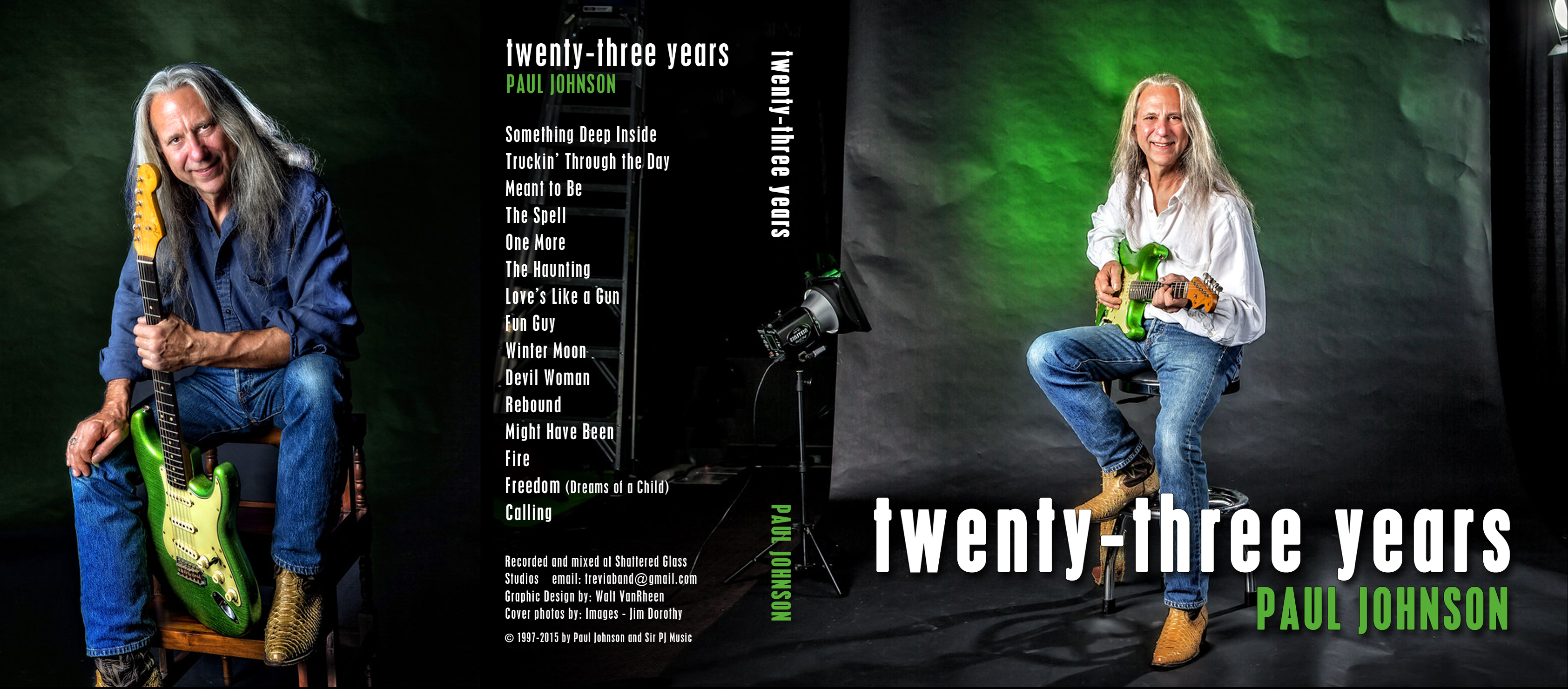front and back of CD cover